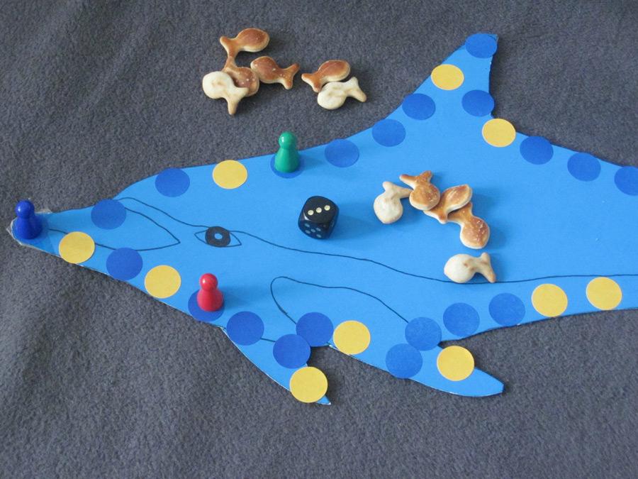 """Würfelspiel """"Fang den Fisch!"""" (Foto: Susanne Gugeler)"""