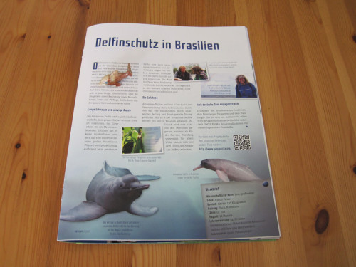 YAQU PACHA hilft den Delfinen in Brasilien. (Foto: Susanne Gugeler)