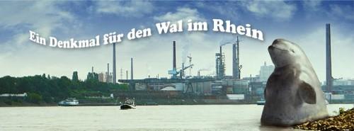 So soll das Denkmal im Rhein aussehen. (Foto: Jörg Mazur)